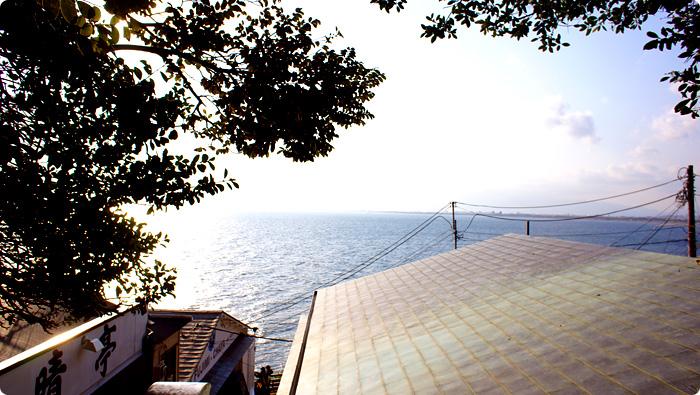 江ノ島からの風景